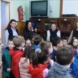 """Посета деце из вртића """"Пчелица"""" Техничкој школи Неготин"""