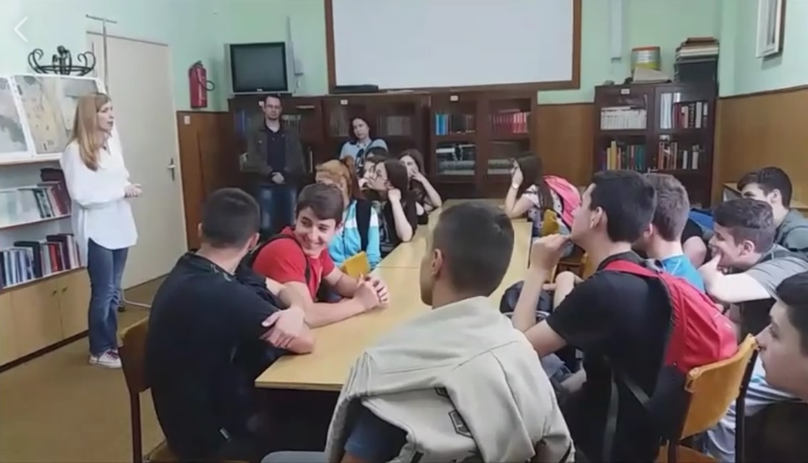 """Посета ученика ОШ """"Вера Радосављевић"""" Техничкој школи Неготин"""