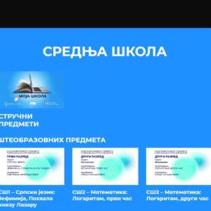 РАСПОРЕД ЕМИТОВАЊА ЧАСОВА НА РТС3 30.03.-03.04.2020.